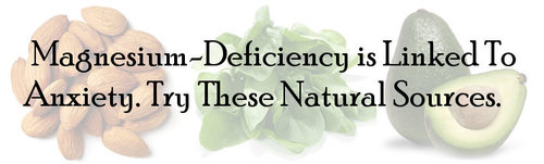 Natural Anxiety Relief Eat Magnesium Rich Foods