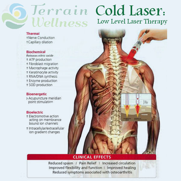 Cold laser, low level laser therapy in Portland