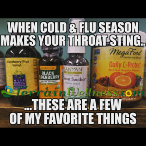 when cold & flu season make your throat sting, these are a few of my favorite things