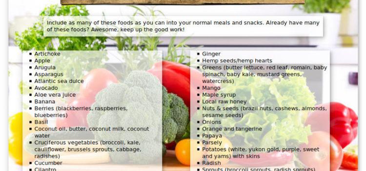 90-Day Thyroid Cleanse: Thyroid Healing Foods