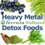 heavy metal detox foods