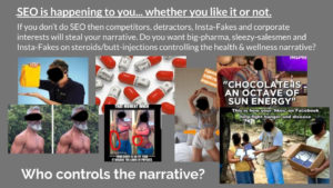 SEO for health & wellness: who controls the narrative?