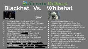 Whitehat Vs Blackhat SEO
