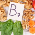 Biotin, vitamin b 7 containing foods