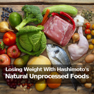 choose natural, unprocessed foods to eliminate inflammation