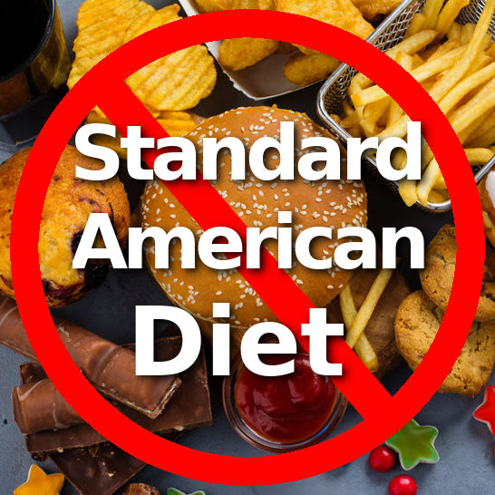 ditch the standard american diet to improve endocrine function