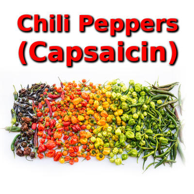chili peppers, capsaicin